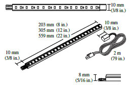 Catalog Tresco Fineline Led Maximum Continuous Run 12 Feet To Prevent Voltage Drop 24 Per 60w Supply